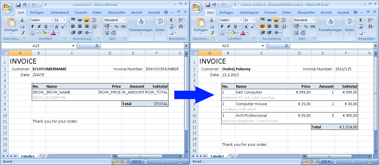 XLSX/XLS/ODS/CSV Delphi & Lazarus - export/import to Excel and